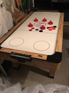 Mint condition Cooper Air Hockey game. $100