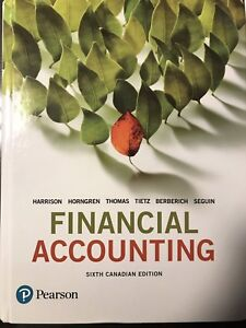 Financial Accounting 6th edition new