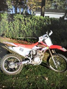 Motocross Honda crf230, 2009