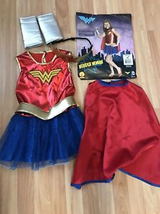 Wonder Woman size 4