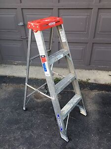 4 foot ladder $45