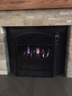Gas fire place $500