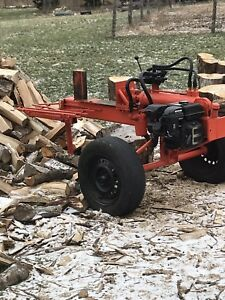 8hp wood splitter