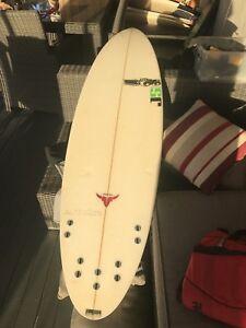 6'4 JS surfboard