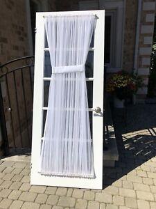 French glass door