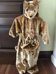 Halloween Child's Kangaroo costume sz 3-4