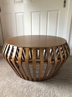 Superbe West Elm Bentwood Coffee Table