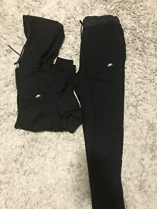 Nike fleece cotton full track suit size S