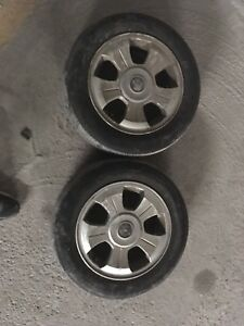 2 14 inch alloy rims for sale