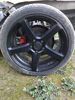 "18"" pdw  wheels"