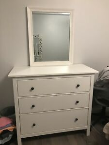 Ikea dresser with mirror