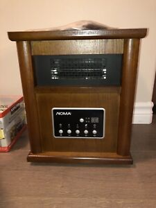Wooden Cabinet Infrared Heater Brand New