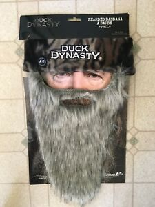 Like New Duck Dynasty Phil Bearded Bandana