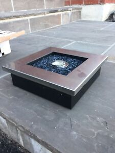 The Zen - Stainless Steel Tabletop Fireplace