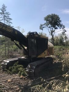 Tigercat harvester