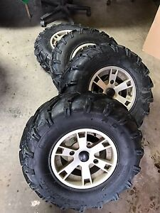 Canam take offs rims and tires