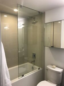FRAMELESS SHOWER GLASS DOORS ENCLOSURES