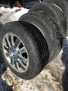 4-225/60/18 Michelin X-ice & 4-BFG Advantage Sport