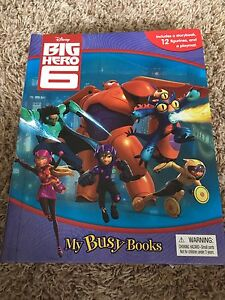 Busy Book & characters ( Big Hero 6)
