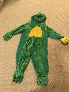 Warm Childens Frog Costume, O/S