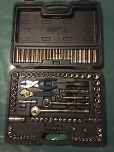 Mastercraft socket & Tool set