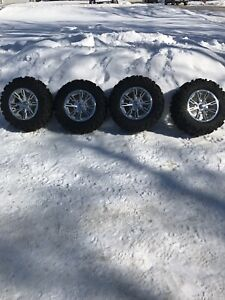CAN AM Bighorn 2.0 Tires and Rims 27 inch