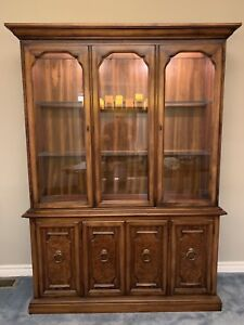 Vintage China Cabinet. Perfect for Refinishing!