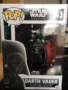 Darth Vader and Scarif Stormtrooper Pop Vinyls #143 & #145