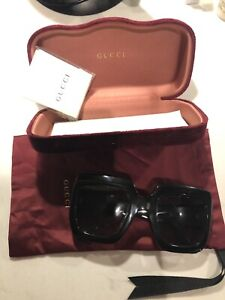 Gucci Pop Web Black Sunglasses