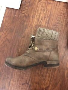 Rieker booties (size 8)