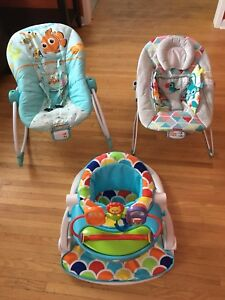 Baby chairs and baby swing
