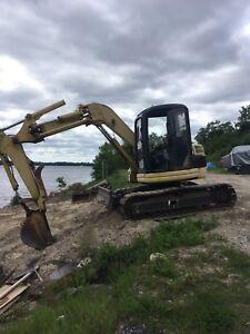 Komatsu pc75 excavator
