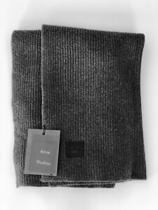 Acne Studios Face Patch Scarf NEW