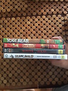 4 DVD Bundle - $10 each or 4 for $30 Newnham Launceston Area Preview