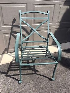 Patio Chairs and folding table