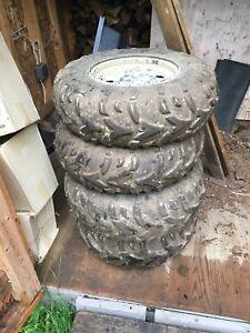 Attic Cat tires and rims