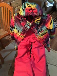 Size 8 girls snow suit