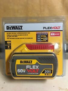 NEW DEWALT FLEXVOLT 20V/60V 9.0AH BATTERY