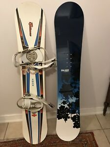 2  Women's Palmer freestyle snowboard for $150
