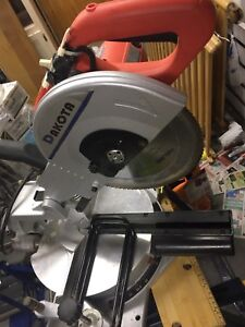 Scie à onglet coulissante 10'' - Sliding miter saw