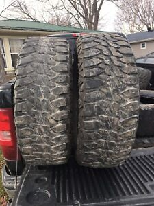 Decent set of mud tires