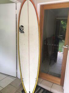 "Mini mal surfboard 7""6"