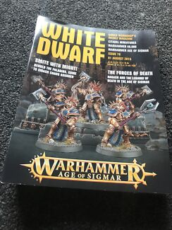 White dwarf magazines, warhammer, games workshop
