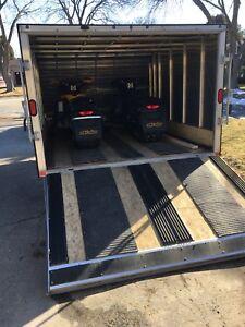 Screw the tilt trailer
