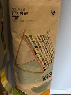 Kids A-Frame Canvas Play Tent