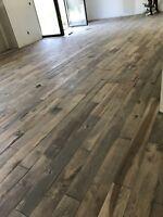 Laminate flooring $0.99 Hardwood flooring 1.25 Special offer