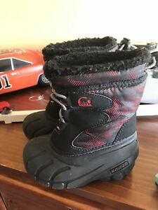 Like brand new sorel kids toddler winter boots
