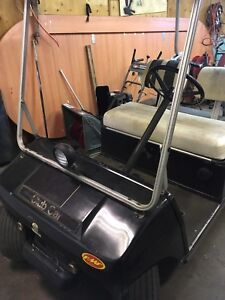 Golf cart and trailer package deal