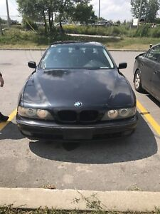 BMW 550 I. 6speed. For Parts
