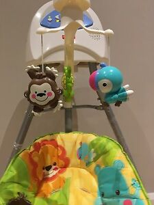 Fisher price cradle swing Animals of the world Normanhurst Hornsby Area Preview